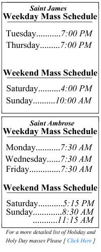 St James Church: Welcome to Saint James Church